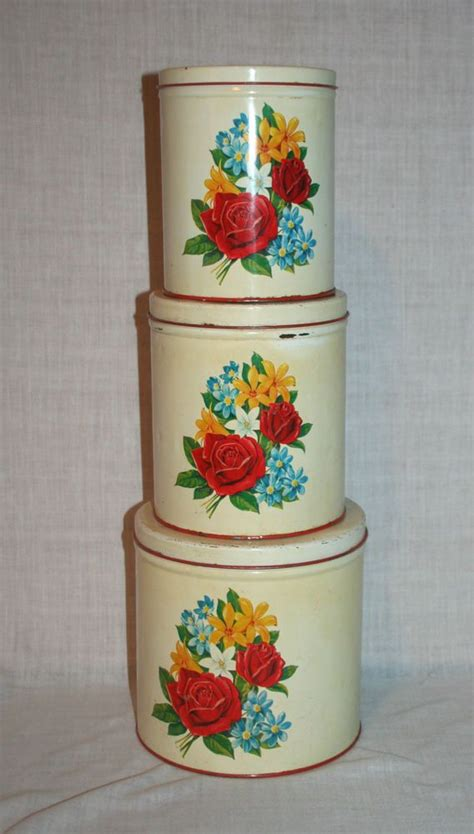 129 best yellow canisters images on pinterest vintage kitchen 17 best images about vintage tin canisters on pinterest