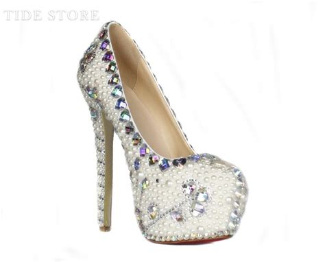 high heels with pearls new pearl high heels pumps tidestore