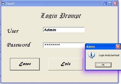 membuat form login di visual basic 2010 positive thinking with the right god way visual basic