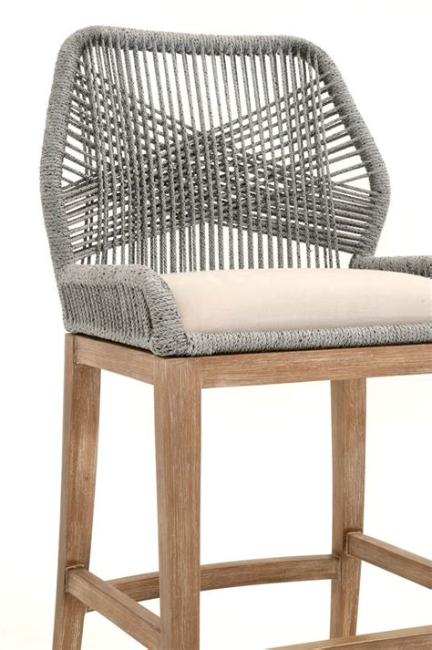 Orient Express Loom Counter Stool by Orient Express Loom Counter Stool Loft Miami Renovation