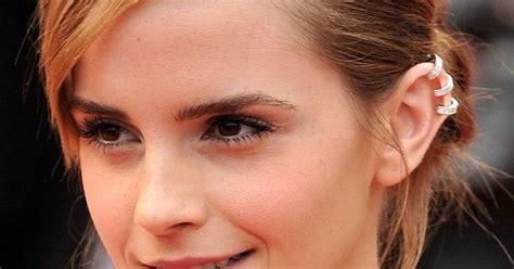emma watson ear piercing emma watson ear piercing amazing celebrity piercings