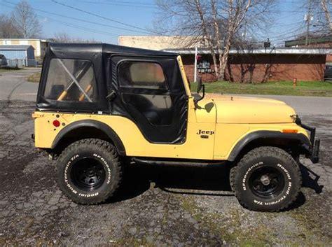 1974 Jeep Cj5 Sell Used 1974 Jeep Cj5 Low Mileage In Dalton