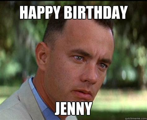 Forrest Gump Memes - happy birthday jenny epic forrest gump quickmeme