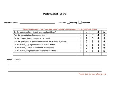 presentation evaluation template best photos of presentation evaluation sheet template