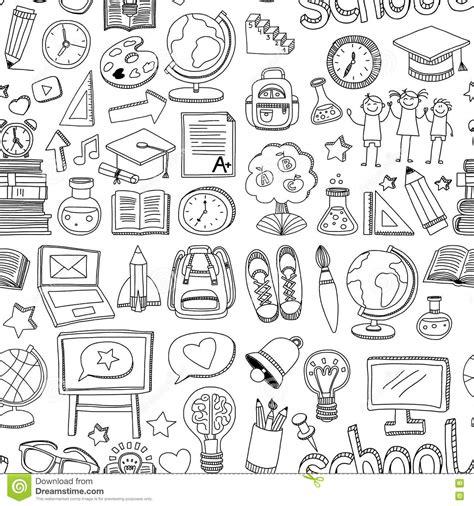 doodle pattern school doodle pattern stock images 3 734 photos
