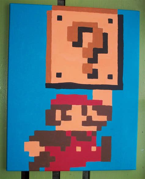 Mario Question Block L by Ea S Type Journal Formatted 1