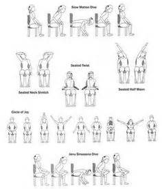 1000 images about chair yoga on pinterest chair yoga chair yoga