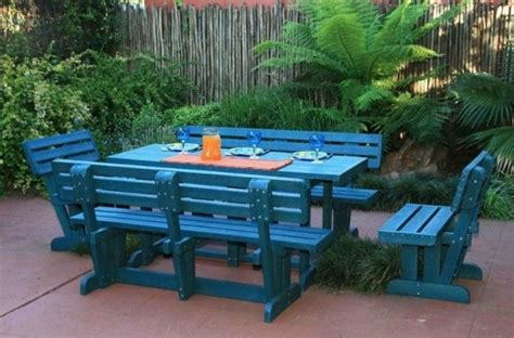 Recycled Plastic Patio Furniture by Recycled Plastic Outdoor Furniture Recycled Things