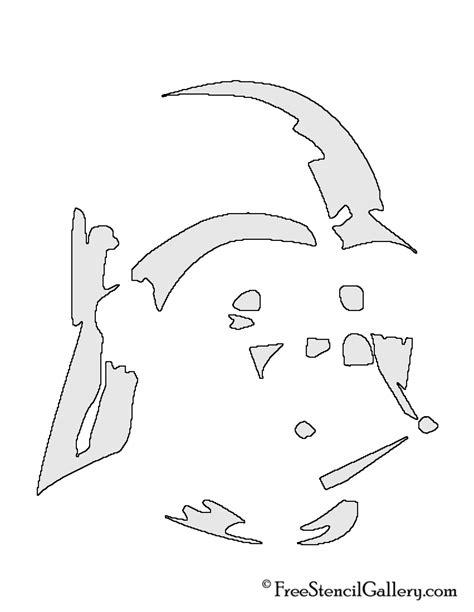 darth vader helmet stencil free stencil gallery