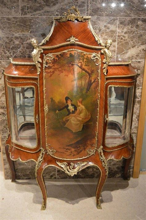 Martin Cabinet by 19th Century Rosewood And Ormolu Mounted Vernis