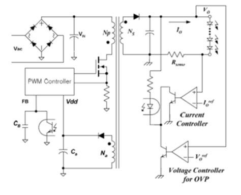 power factor correction led driver electronics engineering on semiconductor primary side regulated flyback led driver