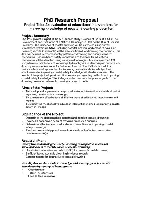 phd research proposal exles