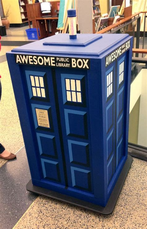 awesome boxes bigger on the inside brookline ma library s