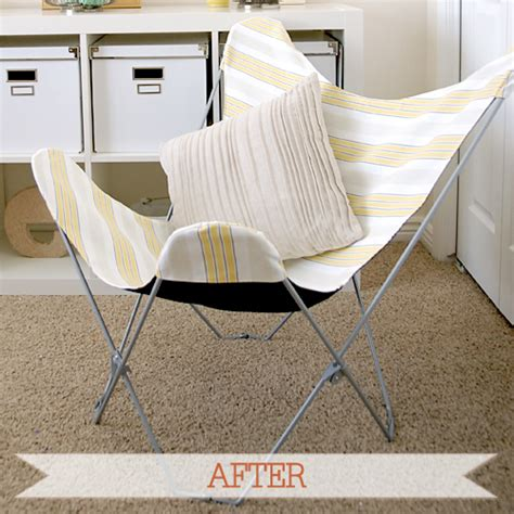 before after butterfly chair i still you by