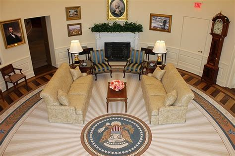 Bush S Fireplace by The Breton Bridge Saw Smart Cut 1000 Produced A Copy Of The White House Oval Office Fireplace