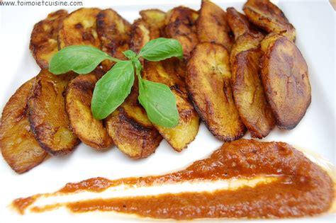 cuisine africaine camerounaise alloco banane plantain frite tchop afrik a cuisine