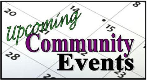 Community Event Calendars The Lancelot Community Events Week Of Sept 2