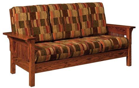 mission furniture sofa amish leah mission sofa