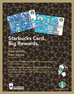 Starbucks Gift Card Singapore - starbucks cards on pinterest starbucks gift cards and cards
