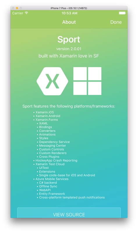 the advantages of xamarin forms over xamarin and where github xamarin sport