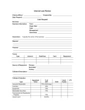 Credit Review Form Documents Business Templates Sle Forms Biztree