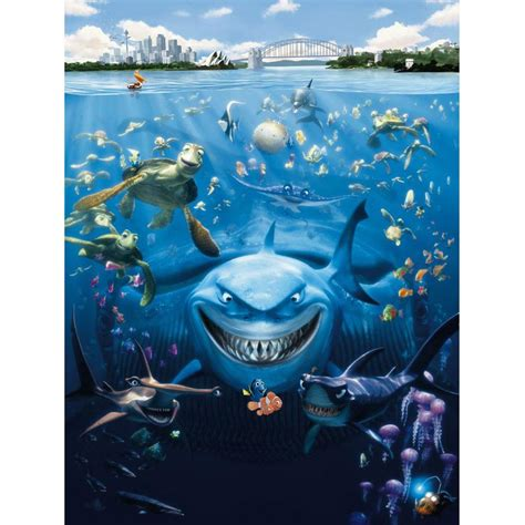nemo wall mural disney finding nemo large photo wall mural new room decor