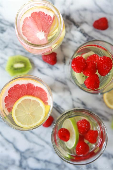 fruit infused water fruit infused water easy healthy recipes using real