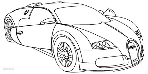 coloring pages to print cars free bugatti drawing coloring pages