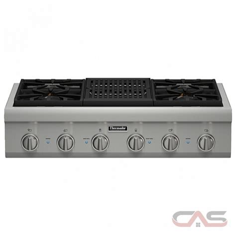 thermador cooktop prices pcg364nl thermador professional series cooktop canada