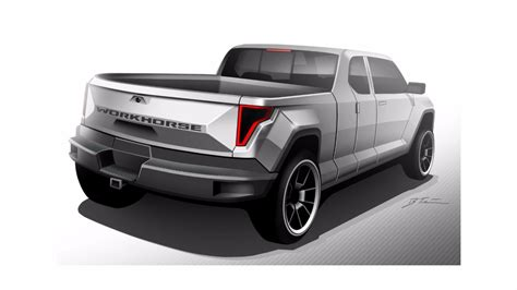 concept work truck ev pickup concept looks like judge dredd s work truck