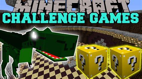 minecraft lucky block mod game online minecraft dinosaurs mods challenge games lucky block
