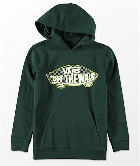 Hoodie Vans The Wall vans boys the wall checker scarab hoodie