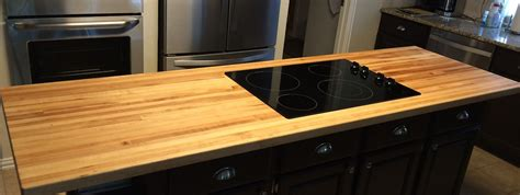 Custom Cut Countertops by Custom Cut Butcher Block Countertop Butcher Block Island
