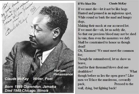 biography of langston hughes and the harlem renaissance poet claude mckay born in clarendon jamaica part of the