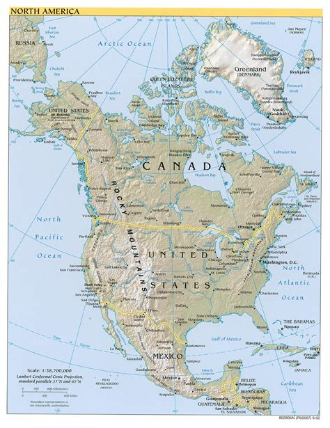 america s map of north america a source for all kinds of maps of