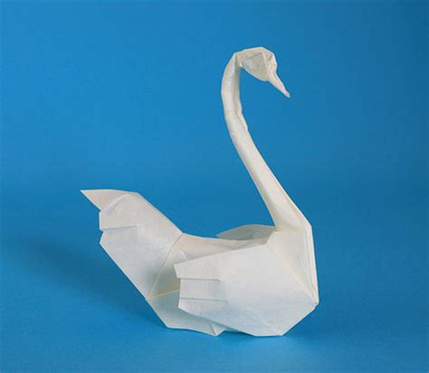 Origami Swan Directions - origami animals