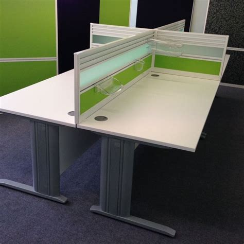 Desk Mounted Dividers by Desk Mounted Screen With Tool Rail Various Other
