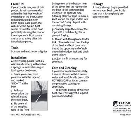 stormpro heavy duty boat cover classic accessories stormpro heavy duty boat cover with