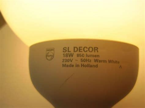 Lu Philips Sl 18 Watt lighting gallery net ls philips sl decor 18w the etch