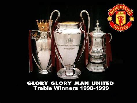Treble Winner manchester united treble winners 1998 1999 photo futbol