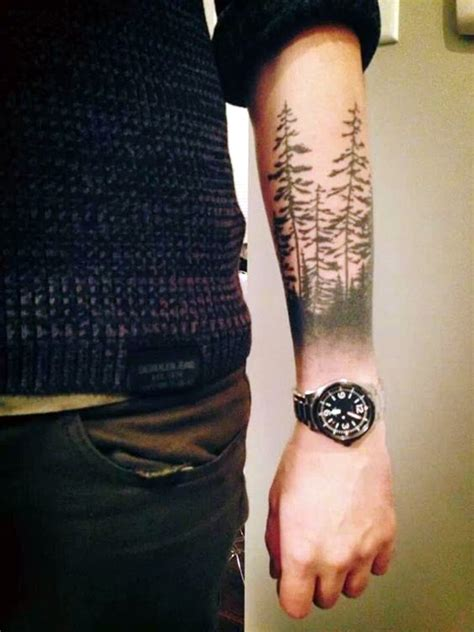 40 deep and super cool forest tattoo ideas bored art