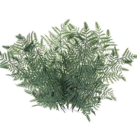 plastic fern leaf stems craft supplies sale sales
