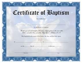 Free Baptism Certificate Templates Baptism Certificate Free Printable Allfreeprintable Com