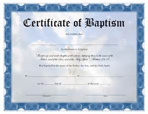 baptism certificate template search results for water baptism certificate template