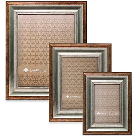 bed bath and beyond picture frames lawrence frames tatum picture frame in silver and gold