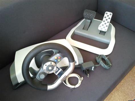 volante microsoft xbox 360 compro vendo volante xbox oficial microsoft