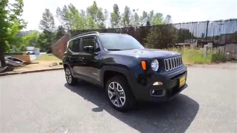 jeep renegade black 2015 jeep renegade latitude black fpb40190 redmond