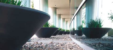 Concrete Security Planters by Graduated Concrete Planter Concrete Planters Planters