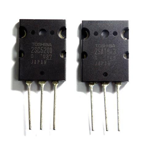 Transistor 2sa 1943 2 Sc 5200 10x par de transistor 2sc5200 2sa1943 mica gratis r 76 90 no mercadolivre