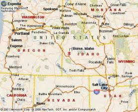 Boise State Map by Similiar Boise Id On State Map Keywords